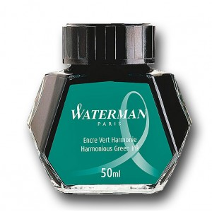Atrament Waterman zielony